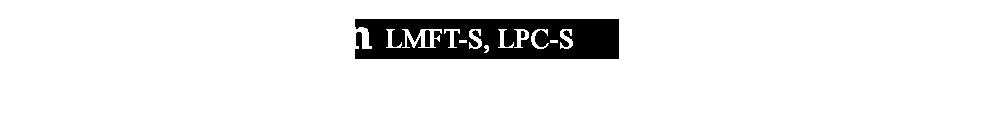 Claudia Thompson LMFT-S, LPC-S
